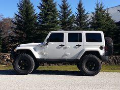 """2013 JK Unlimited - AEV 4.5"""" Dual Sport SC, AEV Pintlers, 37x13.5x17 Toyo Open Country MT, 3:73 Gears"""