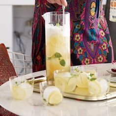 Ginger Shandies | 28 Big-Batch Summer Drinks That Know How To Get Down