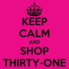 Everyone needs a little Thirty One in their life.  https://www.mythirtyone.com/Melissa-Ferrell/