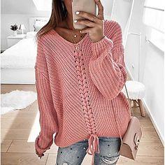 LightInTheBox - Παγκόσμιες Online Αγορές για Φορέματα, Σπίτι & Κήπος, Ηλεκτρονικά Προϊόντα, Ένδυση Γάμου Casual Sweaters, Winter Sweaters, Pullover Sweaters, Sweaters For Women, Oversized Sweaters, Cheap Sweaters, Women's Sweaters, Sweatshirt, Loose Sweater