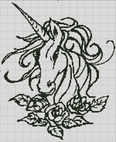 83 Best unicorn in plastic canvas,cross stitch and quits