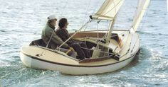 """With the Sakonnet 23, designer Joel White sought to design a simple daysailer that offers """"good speed, comfortable seating for four, and good looks,"""" because """"a properly designed daysailer gives the maximum in boating pleasure for the dollars spent."""" I think it's safe to say that this double-ended daysailer built by Edey & Duff accomplishes White's simple goal. Its lines are"""