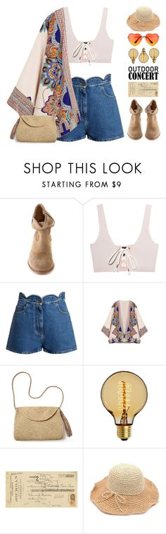 """""""Outdoor Concerts"""" by doga1 ❤ liked on Polyvore featuring Isabel Marant, Puma, Valentino, Mar y Sol, Eichholtz, Art Classics, 60secondstyle and outdoorconcerts"""