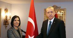 Erdoğan, KKTC Meclis Başkanı'nı kabul etti