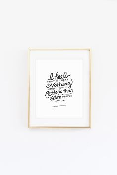 FREE Love People Art Print from @cydconverse