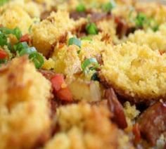 This cornbread stuffing recipe with chorizo sausage is a perfect compliment to any Thanksgiving Day ...