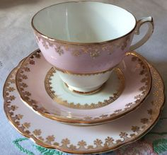 """Gladstone, """"Perfect Pink"""", Tea for One Set Tea For One, Gladstone, Perfect Pink, Tea Sets, Vintage China, Cups, English, Tableware, Beautiful"""