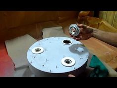Base para lustre de cristal - YouTube