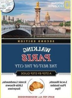"""See the delights of Paris with 15 carefully curated itineraries, written by anexpert travel writer, that showcase the city's best sights. Fun featuresinclude in-depth looks at major icons, """"best of"""" lists of quintessentialthings to see and do, and insider information full of local knowledge. A""""travel essentials"""" section has planning tips and hand-picked will find top-notch, streamlined, and useful information that goesbeyond the internet basics to ensure a rewarding, authentic, Budget Travel, Travel Tips, Cancun Mexico Resorts, Travel Essentials, National Geographic, Budgeting, Writer, Knowledge, Internet"""