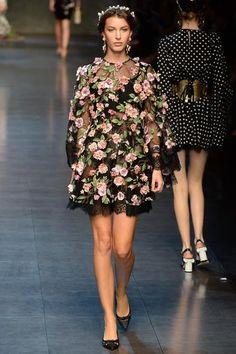 Dolce & Gabbana Spring 2014 Ready-to-Wear Collection Slideshow on http://misqueridasfashionistas.blogspot.com.es/