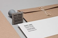 self promotion... those envelopes.