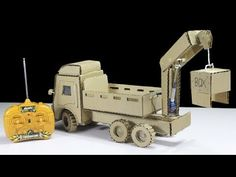 Palfinger Crane Truck ! How to make a Palfinger Crane From Cardboard at Home - YouTube