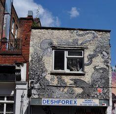 Lilymixe Street Art in East London