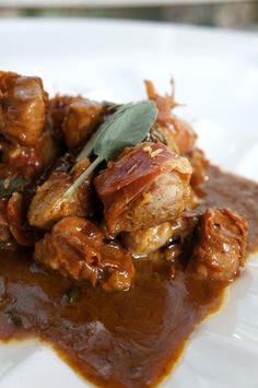 Ιταλική τηγανιά με χοιρινό, προσούτο και λεμόνι Main Dishes, Pork, Beef, Cooking, Food And Drinks, Main Course Dishes, Recipes, Kale Stir Fry