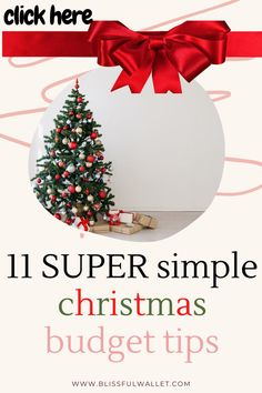 Are you someone who struggles to afford Christmas every year? Always feel that you are spending money on a tight budget? This post includes 11 simple ways to start a sinking fund so that you have a christmas sinking fund. Saving for christmas & finding cheap gifts is important to staying on budget and living within your means during the holidays. Frugal holidays, frugal gift shopping ideas, frugal christmas is the core of getting ready for the holidays #MoneyTips #College follow @BlissfulWallet