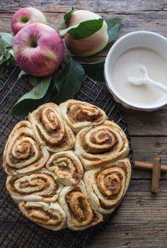 APPLE BUTTER CINNAMON ROLLS WITH MAPLE FROSTINGReally nice  Mein Blog: Alles rund um Genuss & Geschmack  Kochen Backen Braten Vorspeisen Mains & Desserts!
