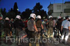 Έκρυθμη η κατάσταση στα νησιά: Επεισόδια και συλλήψεις σε Χίο και Λέσβο