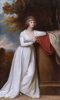 Barbara, Marchioness of Donegall by George Romney, c. 1793