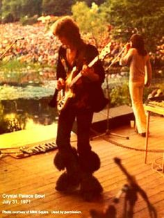Chris Squire  Jon Anderson - Crystal Palace Bowl  July 31, 1971