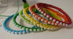 Bracelets...look easy to make
