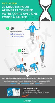 Corde à sauter : 20 minutes pour affiner et tonifier votre corps