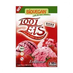 Μείγμα για Παγωτό Φράουλα 84gr Biovegan Snack Recipes, Snacks, Cereal, Gluten Free, Chips, Free Products, Breakfast, Food, Strawberries