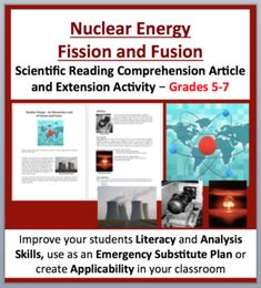 Nuclear Energy – Fission and Fusion