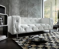 Sofa, Barcelona Chair, Lounge, Designer Couch, Tables Basses, Lifestyle, Furniture, Home Decor, Photography