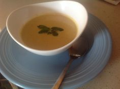 """Norwegian Cauliflower Soup, or as we call it """"Blomkålsuppe"""" - a popular summer food in my country. This one kicks a punch though, made with a twist!"""
