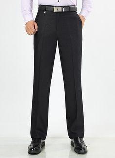 Autumn Winter Men Suit Pants Mens Silk Trousers Business Men's Pant Western Style Pants Formal Wedding Party Dresses Size 29-44
