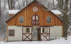 Barn With Living Quarters Horse Barns And Barns On Pinterest
