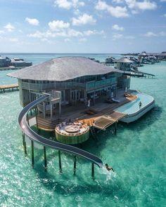 Soneva Jani - Maldvies OMG! Costs over $3,000 a night! Wish i could it. I would go!! #VisitMaldives #MaldivesHoliday #MaldivesDestination
