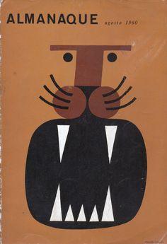 Magazine cover, by Sebastião Rodrigues