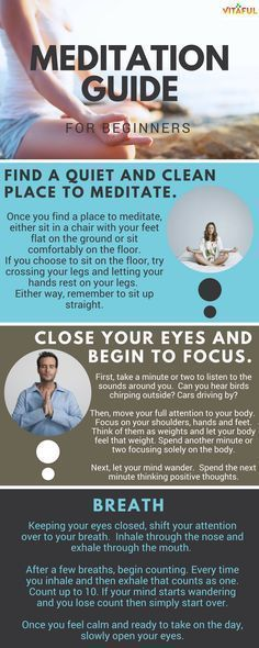 Great Meditation Guide for Beginners | Meditation Helps With Stress Relief, Mental Health and Overall Wellbeing | Holistic Health | Natural Remedies | Health Infographic #MeditationHealth #BenefitsofMeditation