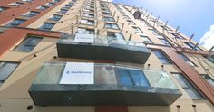 Pomona Wharf was a record-setting project for us, achieving 34 balconies installed in a day. Find out how we achieved it here Concrete Wall Panels, Balconies, Looking Back, Winchester, United Kingdom, Sapphire, Construction, Verandas, Building