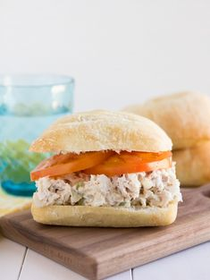 Classic Chicken Salad Sandwich - Awesome basic recipe that can be modified with cashews, grapes, chopped carrots...