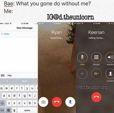 I'ma text Brian, FaceTime Ryan, call up Keenan tell 'em I need 'em niggas ain't loyal