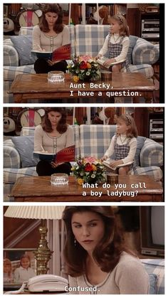 Tv show quotes full house Full House Memes, Full House Funny, Full House Quotes, Tio Jesse, Uncle Jesse, Full House Tv Show, Becky Full House, Full House Cast, Aunt Becky