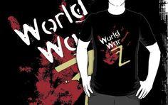 World War Z T Shirt - See best of PHOTOS of the WORLD WAR Z film