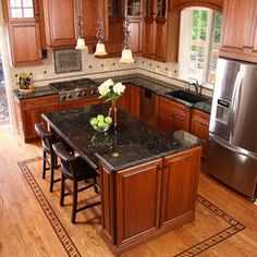 Small Kitchen Layouts Design, Pictures, Remodel, Decor and Ideas - page 3