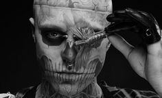Rick Genest... It would be wrong not  to include him on this board