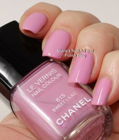 Chanel Sweet Lilac 615 Reflets d'Été de Chanel summer 2014 - swatches and comparisons
