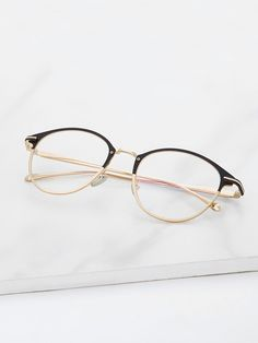 Two Tone Frame Glasses #sponsored