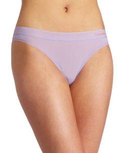 Calvin Klein Women's Second Skin Thong