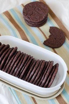Homemade Chocolate Wafers 5