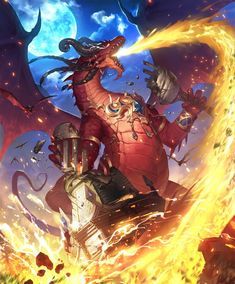 Fantasy Dragon, Fantasy Art, Robot Dragon, World Of Warcraft Wallpaper, Anthro Dragon, Monster Hunter Art, Warcraft Characters, Legendary Dragons, Sword Design