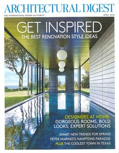 Image result for architectural digest magazine cover April 2014