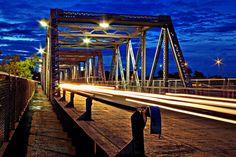 Long Exposure, Silver Bridge. Puente Plateado (Torreón, Coahuila)