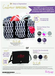 September 2015 Customer Special! https://www.mythirtyone.com/345225/shop/party/parties