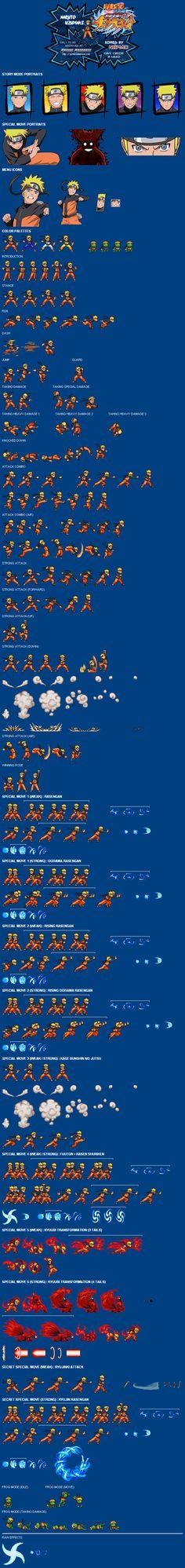 Sprite Database : Naruto